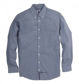 Southern Proper Southern Proper Goal Line Shirt: Surf Micro Gingham