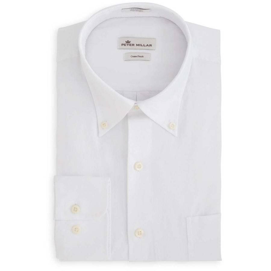 Peter Millar Peter Millar Crown Finish Pinpoint Sport Shirt