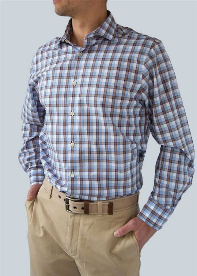 Scott Barber Check Shirt