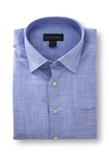 Scott Barber Cotton Solid Shirt