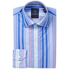 TailorByrd Woven Perry Stripe Dress Shirt