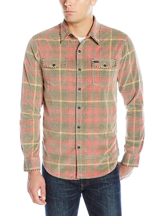 True Grit True Grit Vintage Plaid Canyon Cord Shirt