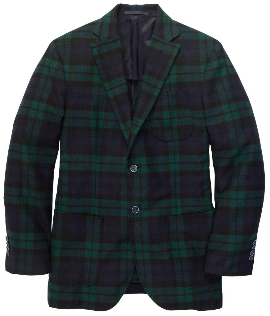 Southern Proper Southern Proper Blackwatch Plaid Blazer