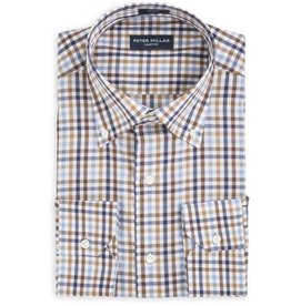 Peter Millar Peter Millar Multi Check Sport Shirt