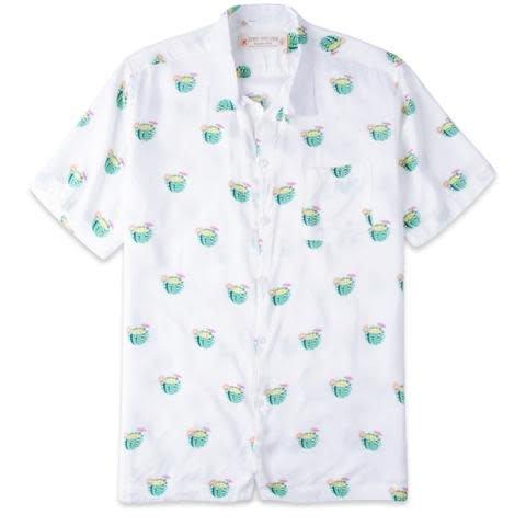 Rowdy Gentleman Rowdy Gentleman Cactus Cocktail Hawaiian Shirt