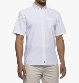 Johnnie-O Johnnie-O Dickson Printed Short Sleeve Button Down Shirt