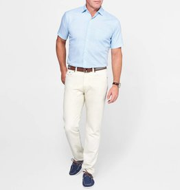 Peter Millar Peter Millar Seaside Cotton-Linen Five-Pocket Pant