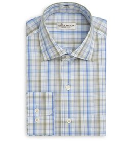 Peter Millar Peter Millar Crown Soft Waterway Plaid Sport Shirt