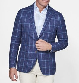 Peter Millar Peter Millar Crown Soft Windowpane Soft Jacket