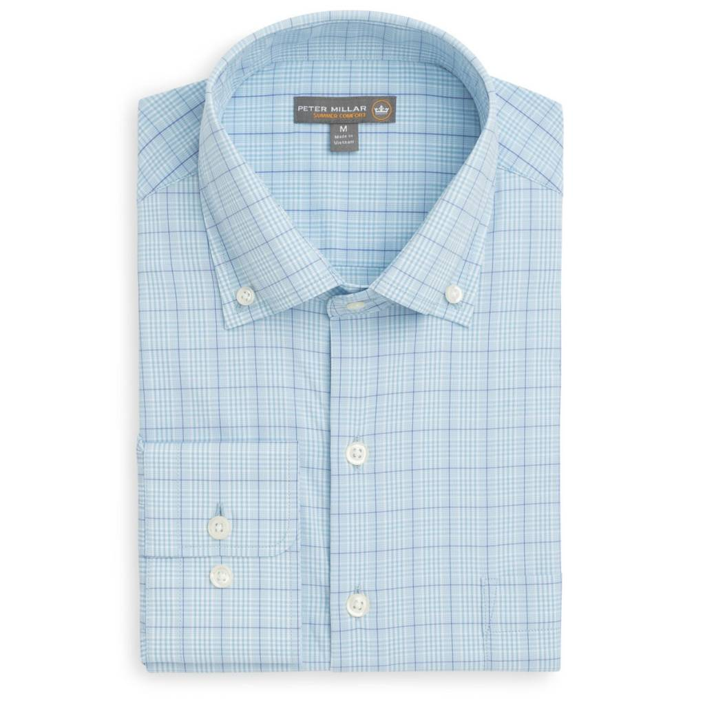 Peter Millar Peter Millar McConnell Performance Glen Plaid Woven