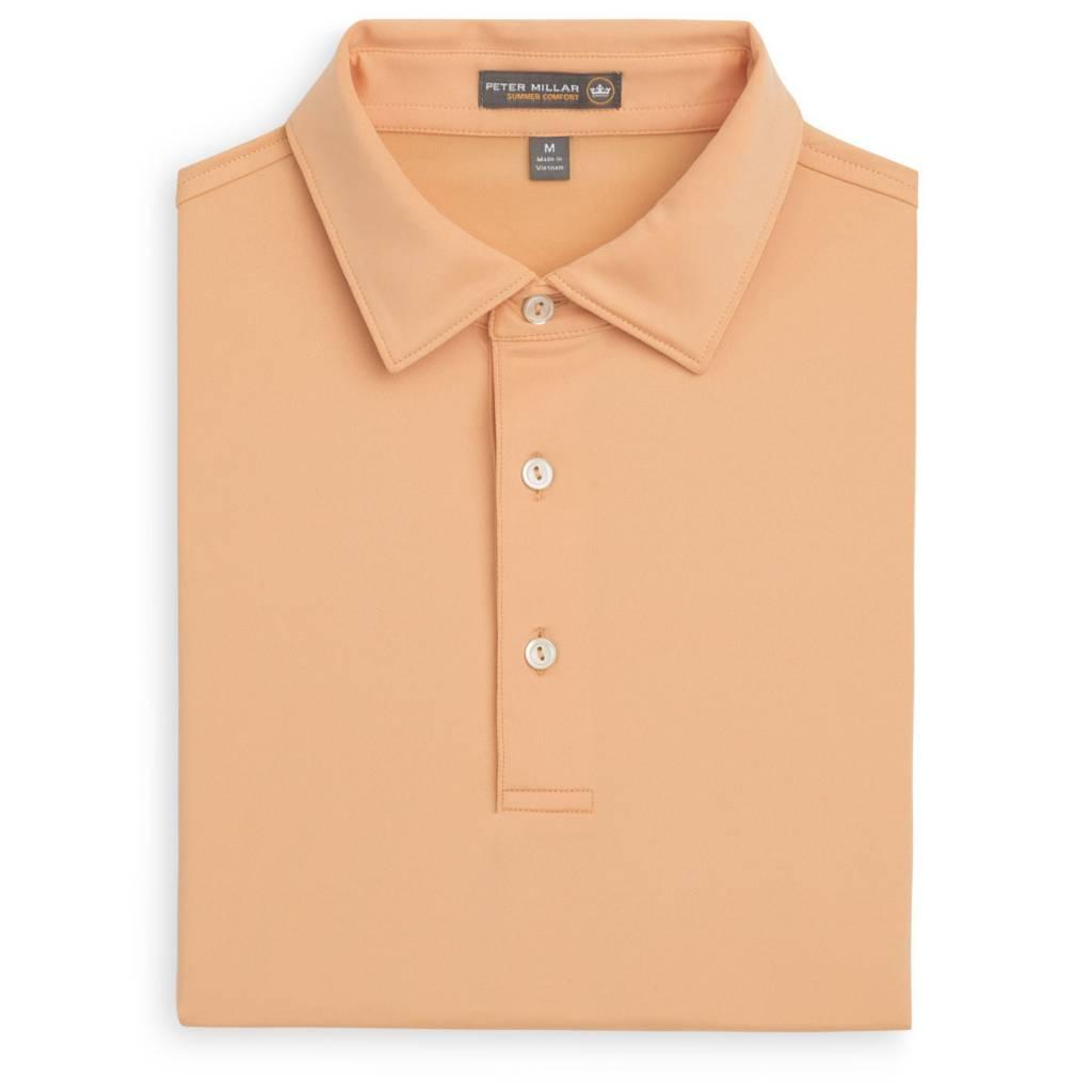 Peter Millar Peter Millar Solid Stretch Jersey Sean Collar Polo