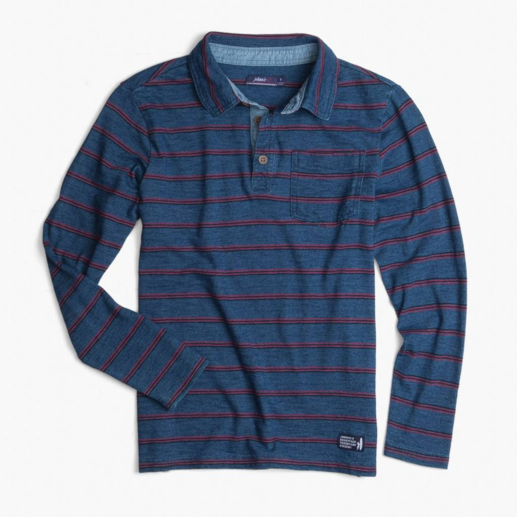 Johnnie-O Johnnie-O Tilly 3-Button Long Sleeve Polo