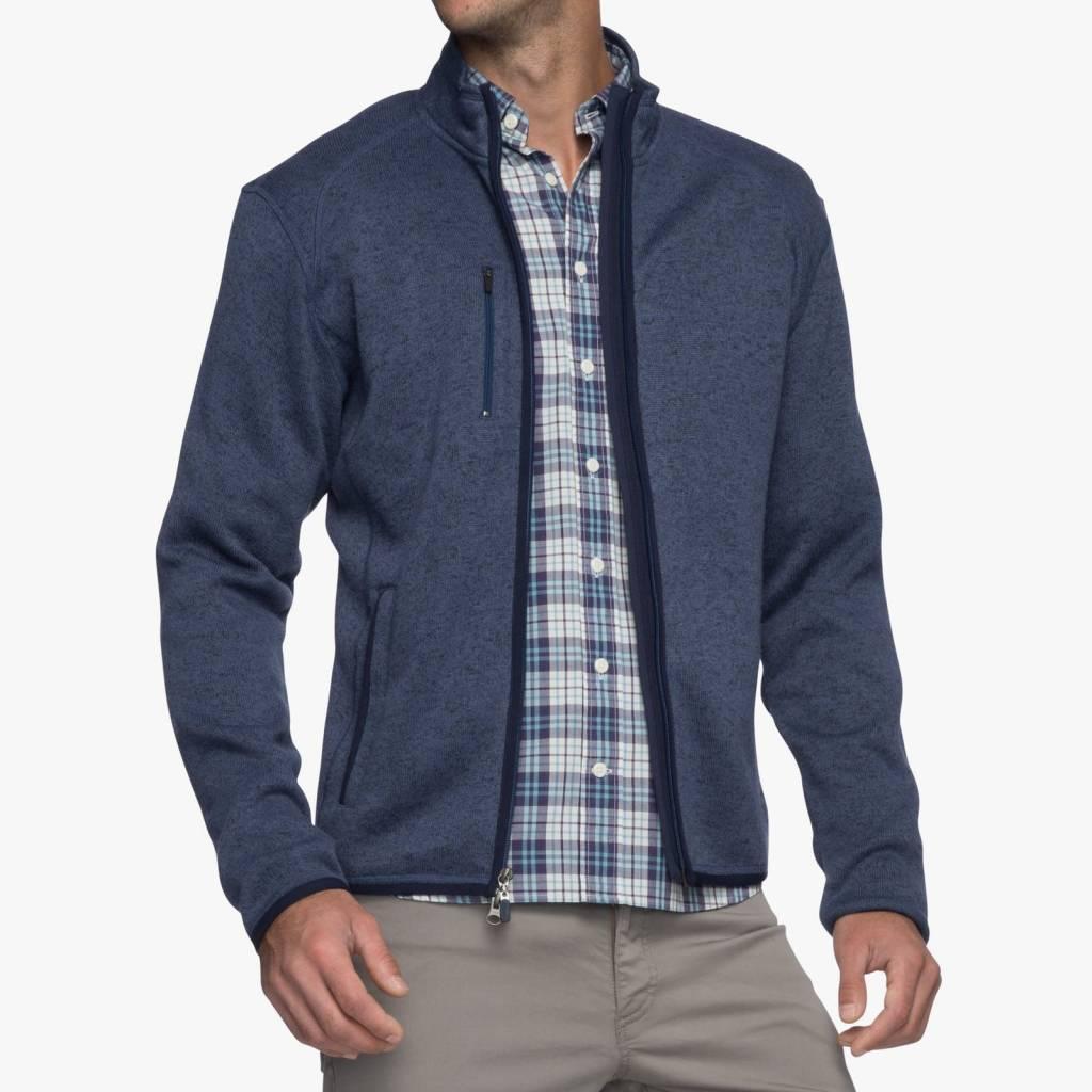 Johnnie-O Johnnie-O Bates 2-Way Zip Sweater Fleece Jacket