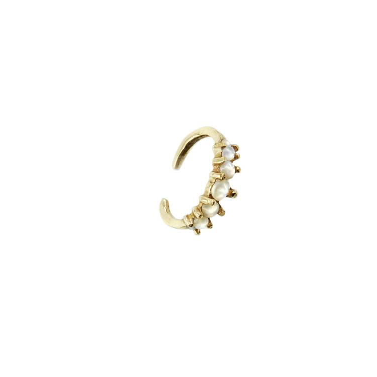 Laurie Fleming Current Ear Cuff - GLD