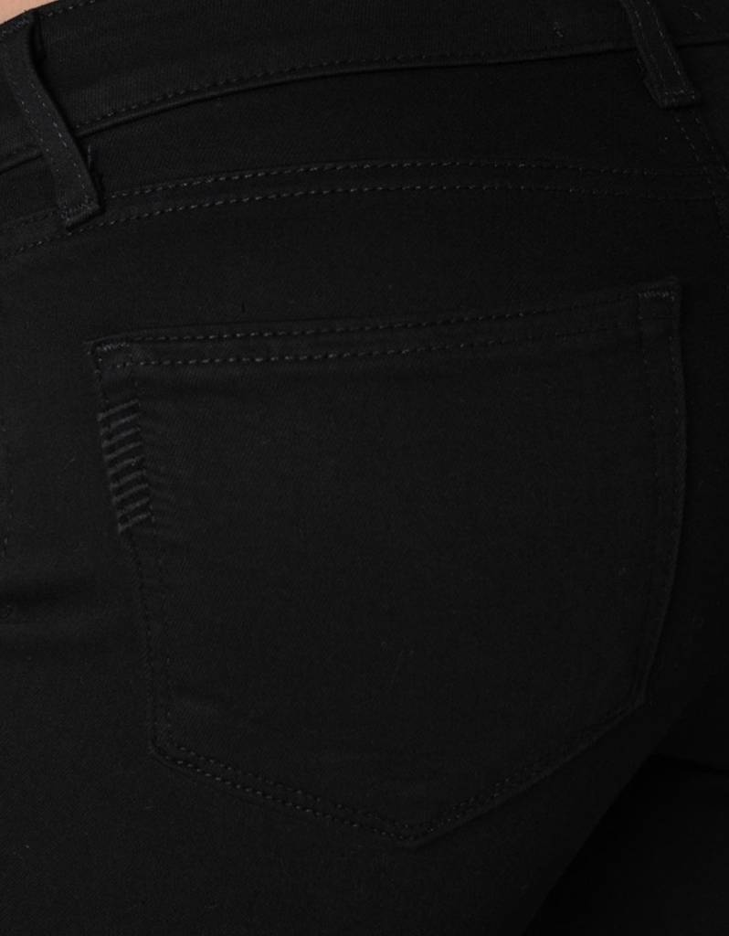 Paige Premium Denim Verdugo Distressed Black Skinny