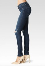 Paige Premium Denim Verdugo Distressed Blue Skinny