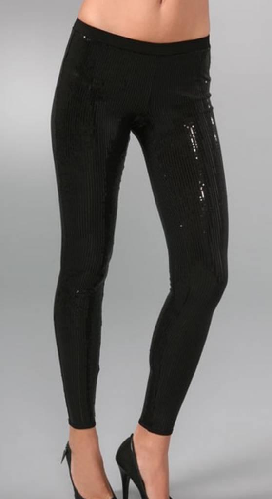 BB Dakota Sequin Black Leggings BB Dakota
