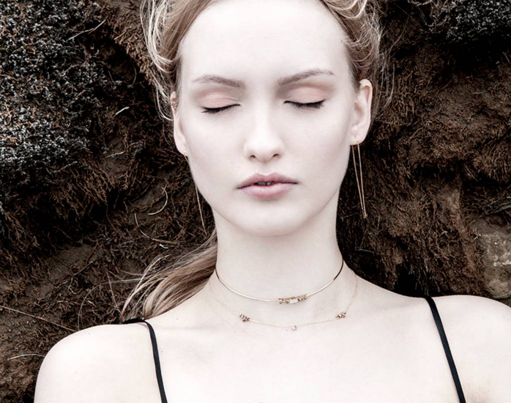 Laurie Fleming Emerald Choker Laurie Fleming
