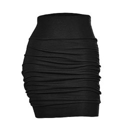 Melow by Melissa Bolduc MELOW Black Gathered Skirt