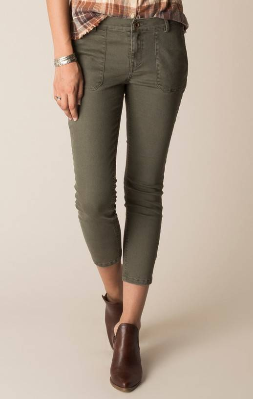 White Crow Sandstone Chino Pants (Dark Olive)