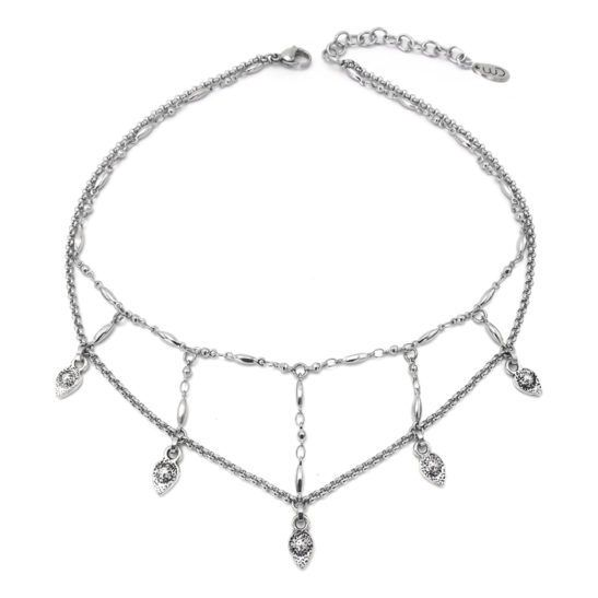 Well Dunn Well Dunn Necklace w/th stainless steel chain/ pendants