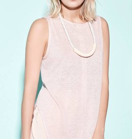 Eve Gravel EVE GRAVEL Vertical Front Pleat Top / Tank