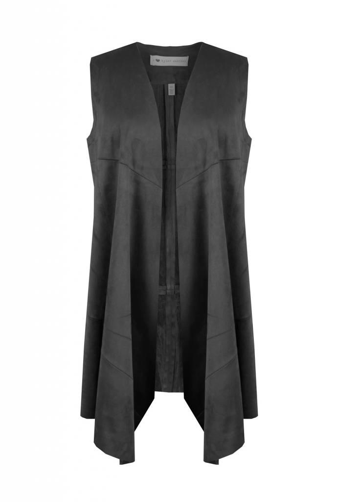 I Love Tyler Madison Tyler Madison Suede Flyaway Vest