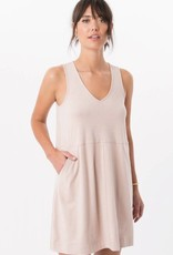 Z Supply ZSupply Smoke Rose Suede Dress w/ Pockets