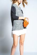 Preloved Preloved Black Mix Mini Dress 'Aveda'