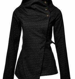 Melow by Melissa Bolduc Melow - Black Asymmetrical Jacket