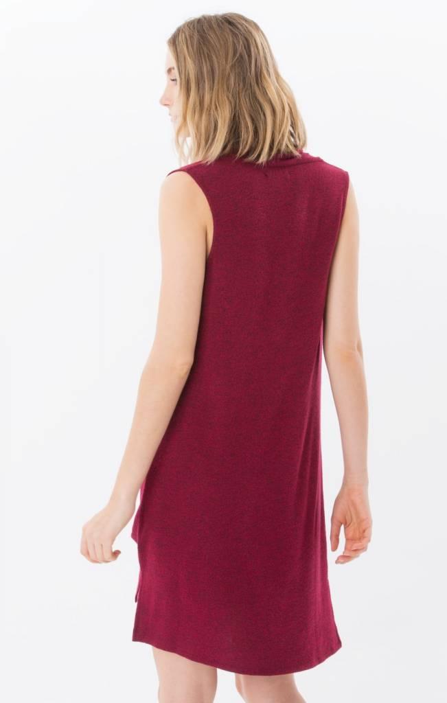 Z Supply Z Supply - Dark Ruby 'Brooklyn' Dress