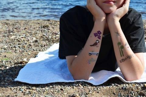 Duke Duke Tattu Temporary Tattoos