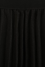 Black Swan Black Swan - Black Pleated Midi Skirt