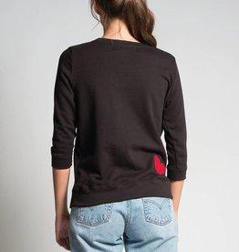 Preloved Pre Loved - Heart Sweater