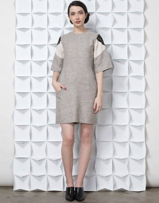 Jennifer Glasgow Jennifer Glasgow - Light Grey Tunic