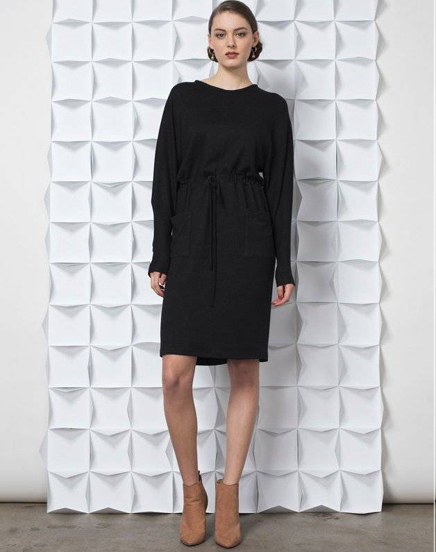 Jennifer Glasgow Jennifer Glasgow - Navy Long Slv Dress