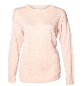 DEX Dex - Blush Rose Lightweight L/Slv Sweater