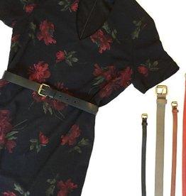 Atelier Atelier - Skinny Leather Belt