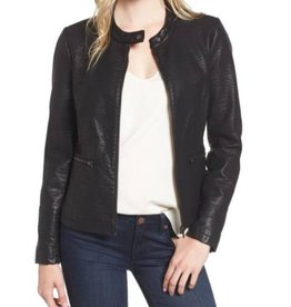 Cupcakes and Cashmere Cupcakes + Cashmere - 'Dolly' Faux Leather Jacket