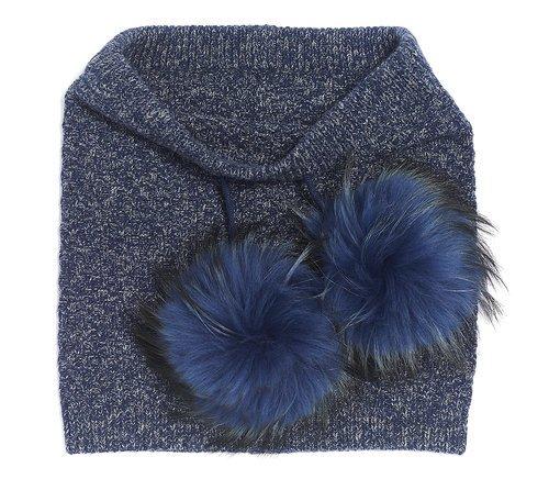 Brume - Knit Pom Scarf