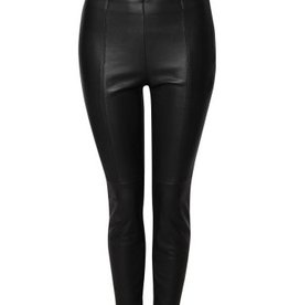 DEX Dex - Black Vegan Leather Pants
