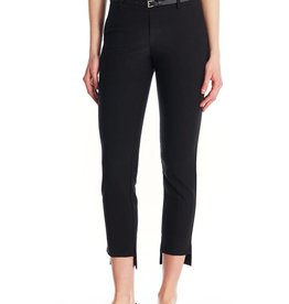 I Love Tyler Madison Tyler Madison - Asymmetric Hem Trouser w/ Belt