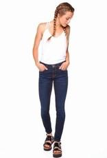 DEX DEX - Optimum Blue Super Skinny Jeans