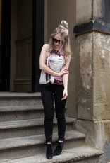 DEX DEX - Black Super Skinny Jeans