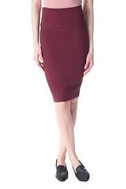 I Love Tyler Madison Tyler Madison - Scarlet Body Shaper Skirt