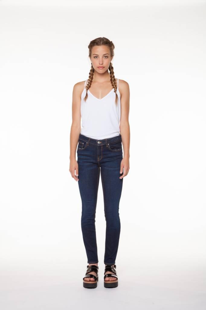DEX Dex - Empire Blue High Rise Super Skinny Jeans