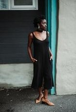 Eve Gravel Eve Gravel - Black Jumpsuit w/ Tie 'Timber'