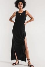Z Supply Z Supply - Black High Slit Maxi Dress
