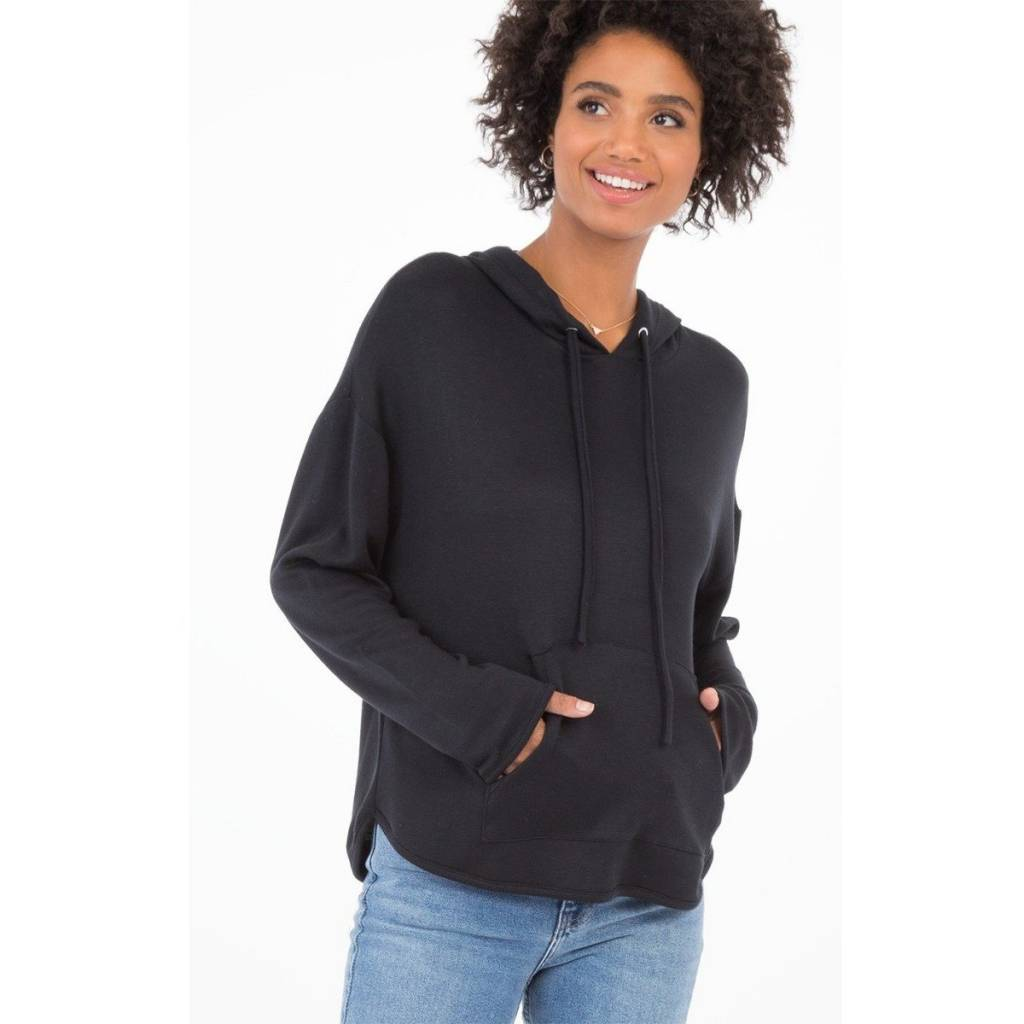 Z Supply Z Supply - Black Lush Modal Hoodie