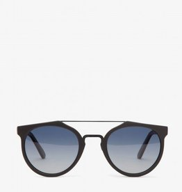 Matt & Nat Matt + Nat - Black Sunglasses w/ Silver Detail Frame 'Aldie'